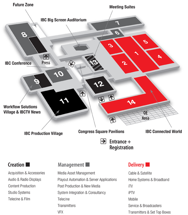 IBC plattegrond