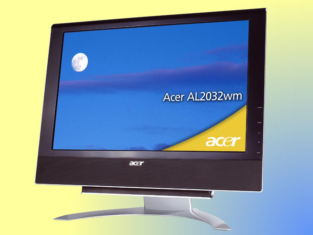 20 inch LCD Flatpanel, Acer AL-2032, widescreen