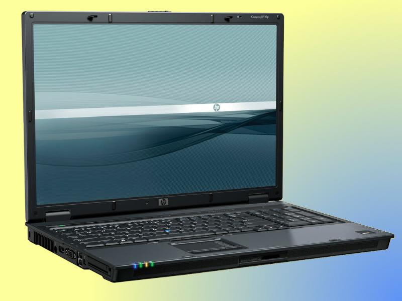 For rent, Laptop Hewlett Packard 8710p