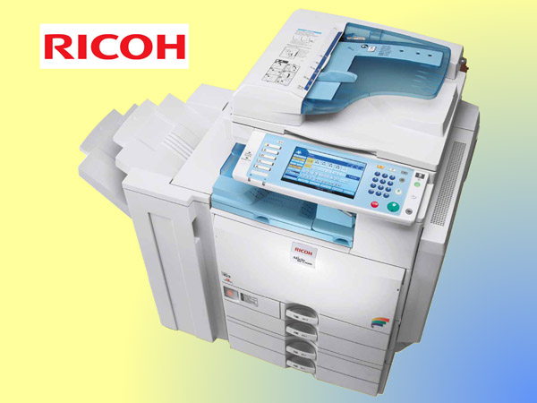 RICOH MPC 3000, large volume, color multifunctional, copy, scan, print