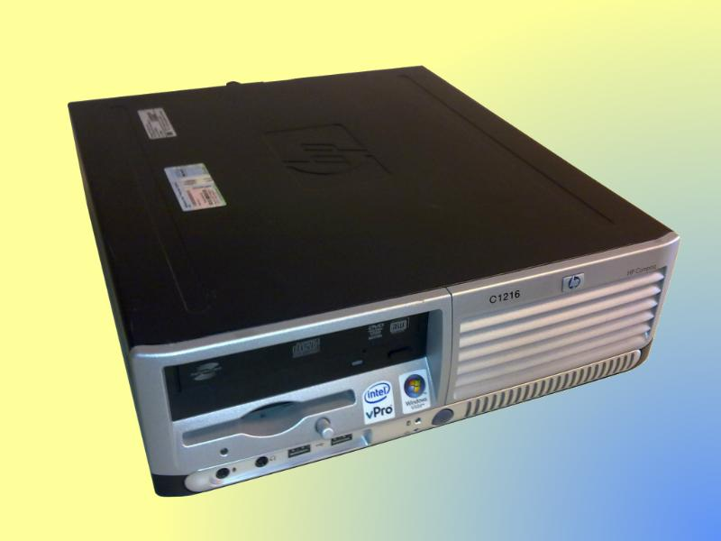 Core2Duo-2,13 Ghz, HP DC7700, desktop PC compact