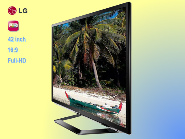 42 inch LED display, LG, Full HD (16 : 9)