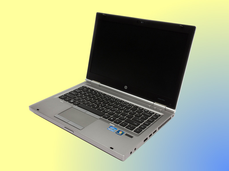 Intel Core i5, HP EliteBook 8470p, Laptop, 14 inch widescreen, SSD / HDD