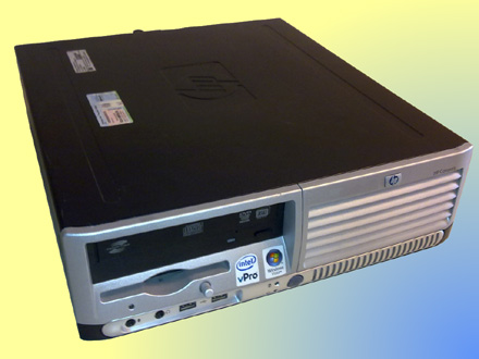 HP allround compacte desktop